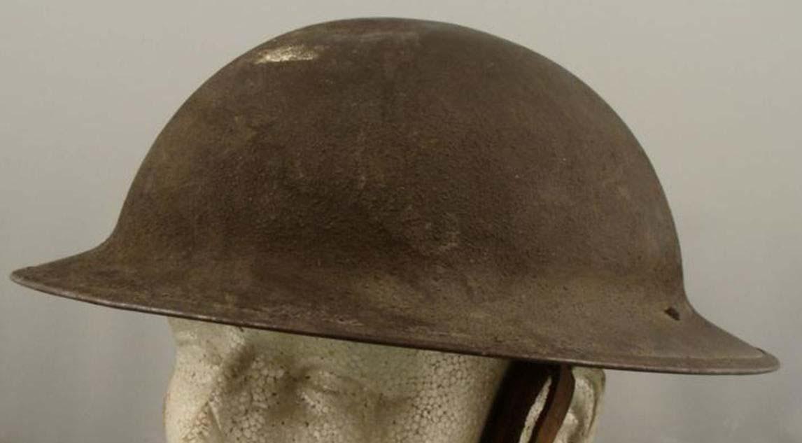 8f83790c932 British Mark Mark I Brodie. U.S. P17 helmet