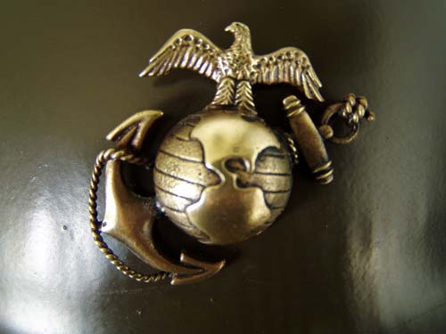 """U.S. P1917 """"China Marine"""" Helmet, Circa 1927-1941"""