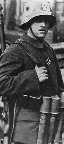 Member of Freikorps Hacketau
