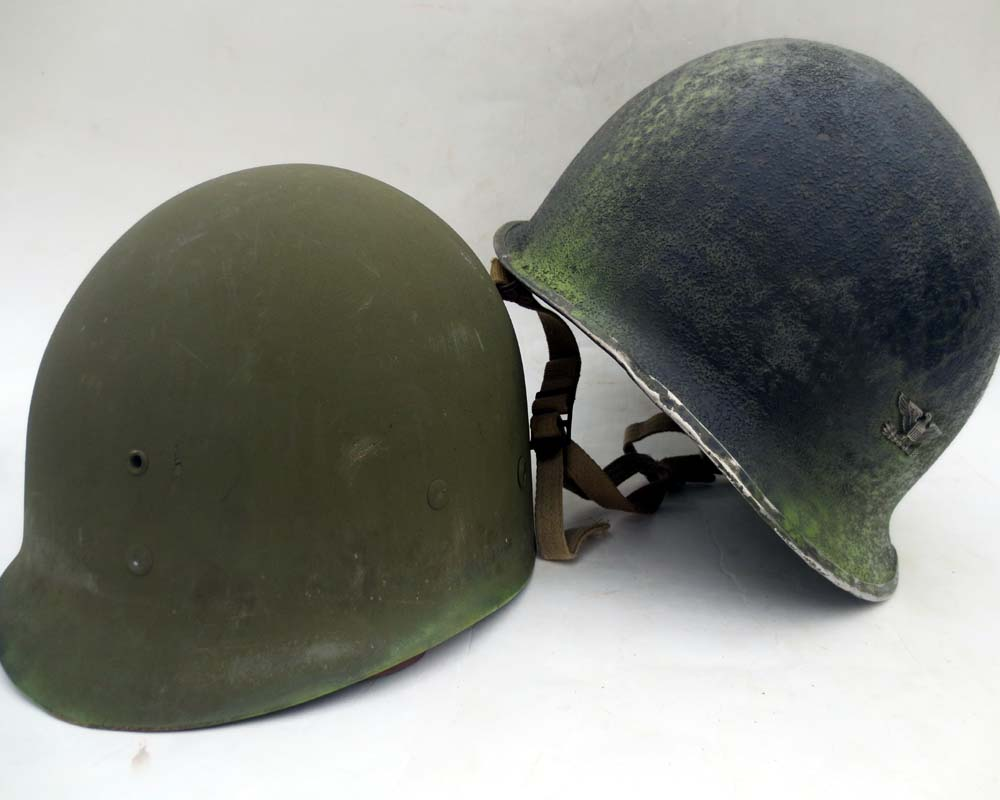 U.S. M2 517th PRCT Colonel's jump helmet