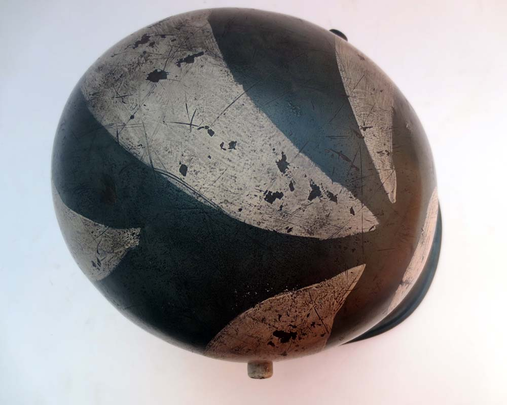 M17 Austrian helmet as worn by Finnish units in the winter war