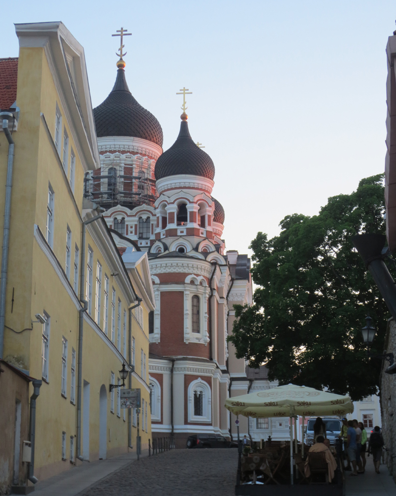 Russian Orthodox church dating to Russian Imperial era