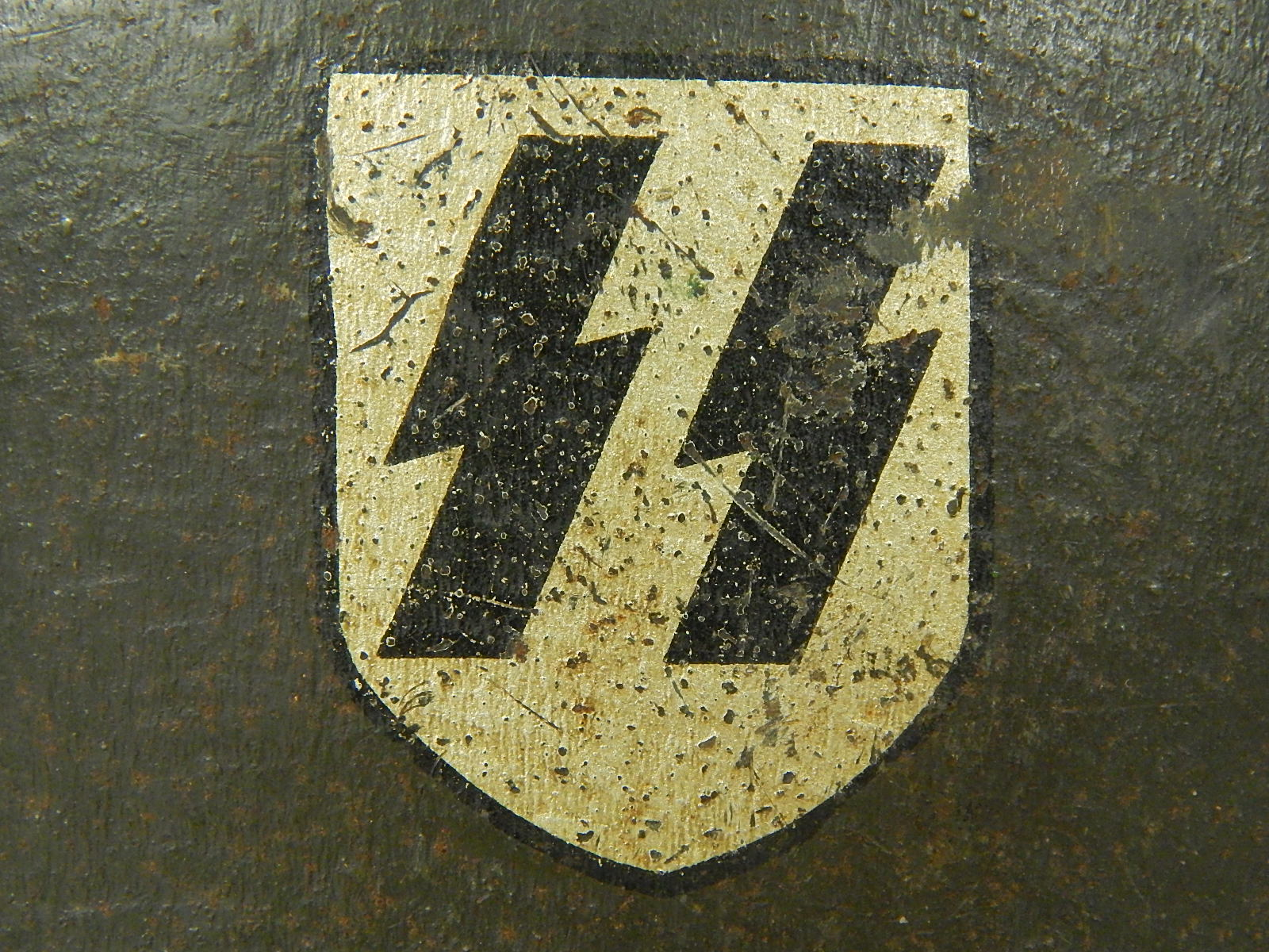 Ss decal applied at the eisenhuttenwerke factory this ss decal is sometimes called the second