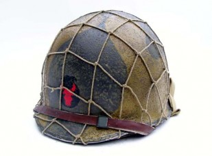 """M1 fixed bail, 34th ID """"Red Bull"""" w/ Mickey Mouse Camo"""