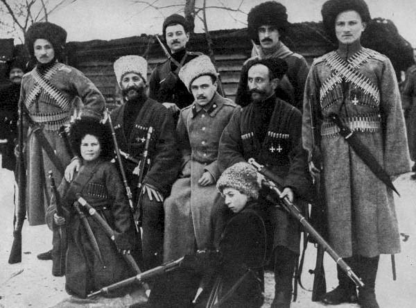 White Guard Cossacks 1918-1921.