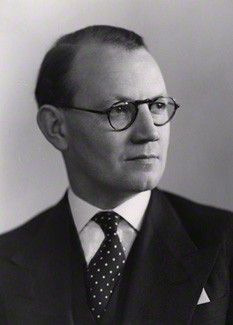 NPG x90362; Austin Richard William Low, 1st Baron Aldington by Elliott & Fry