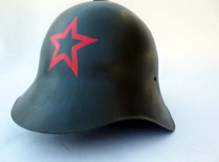 Soviet SSH36 w/Soviet Red Star