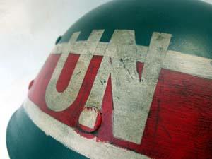 U.S. M1 liner, 1950s U.N. M.P. insignia