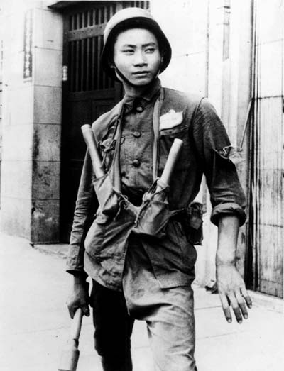 The modern Chinese soldier, circa 1937