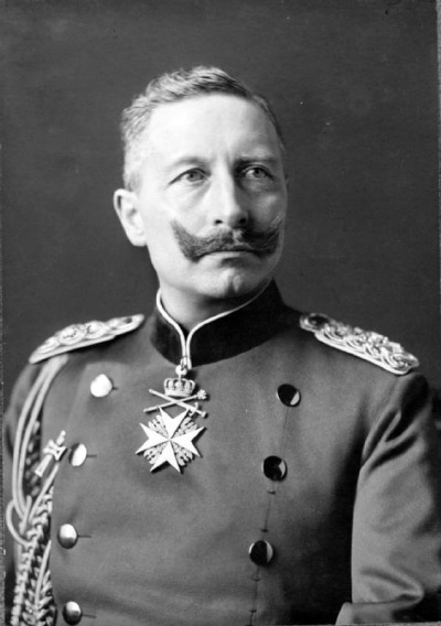 Kaiser William II, inspiration for the monster?