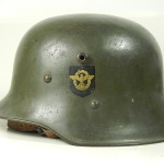The Butcher's Steel Hat- A short history of the Ordnungspolizei Transitional Helmet