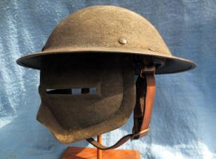 U.S. WWI experimental helmet