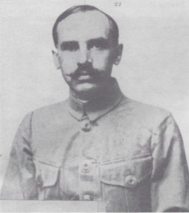 Nicholas Sokolov, the lead investigator on the Romanov murders