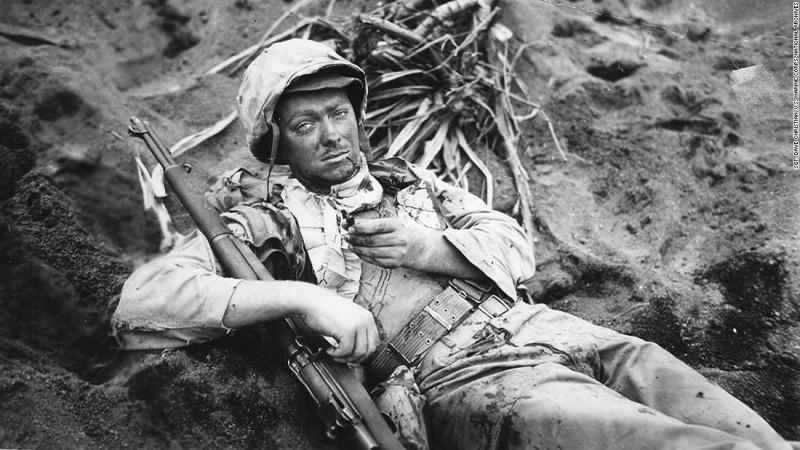 Cpl. Rudolph E. Engstrom Iwo Jima