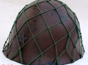 Japanese Type 90 Helmet w/net