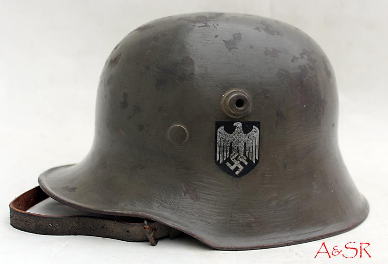 German M18 Transitional helmet circa 1935