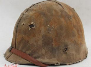 M1 Fixed loop Helmet w/Marine Helmet cover