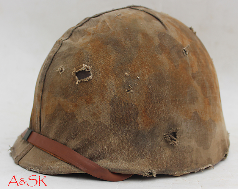 M1 Fixed loop Helmet w/Marine Helmet cover
