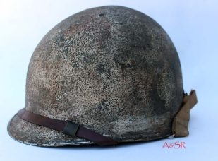 U.S. M1 swivel bale helmet 506th PIR w/snow camo