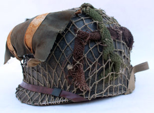 US M1 Fixed bale helmet 502nd PIR, Market Garden/Bulge