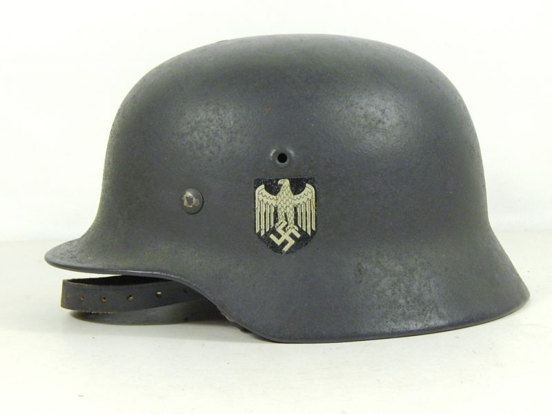 The German helmet of the Normandy Campaign