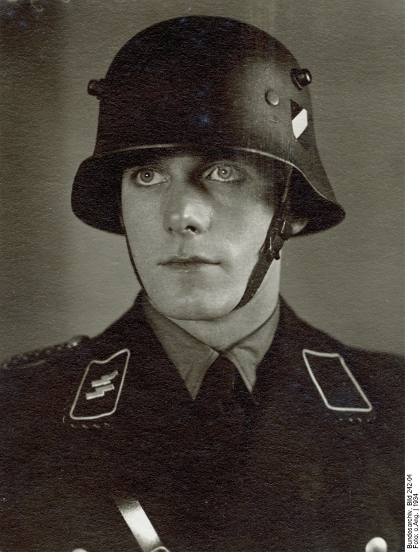 Sinister in Black, the Pre-War Helmet of the SS