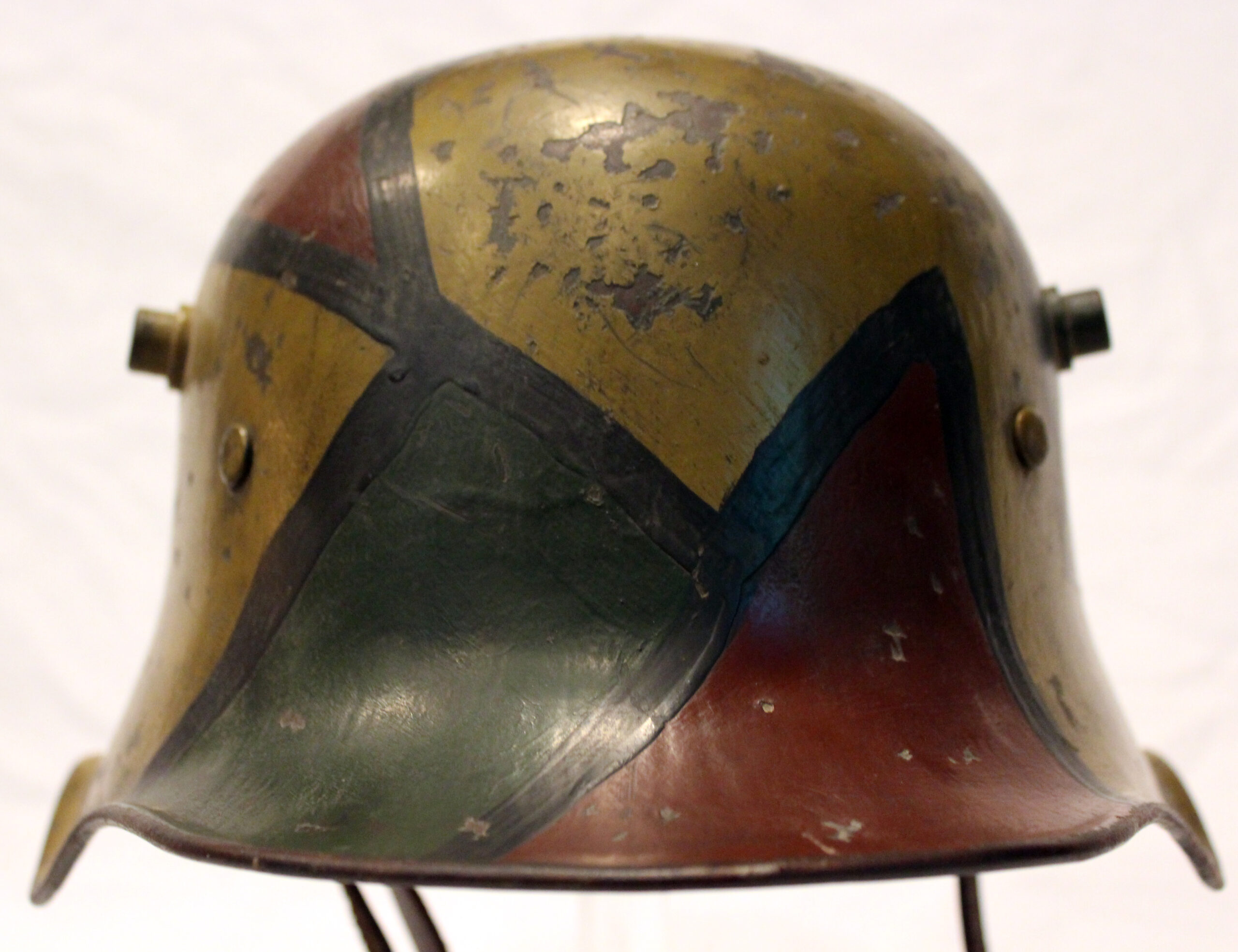 M18 cut-out helmet, autumn camouflage