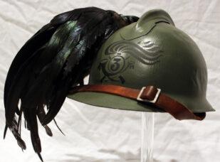 Italian M16  Bersaglieri helmet