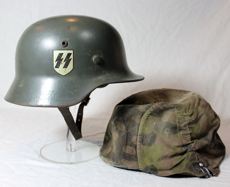 SS double decal M35 with camouflage cover