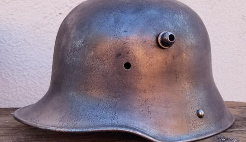 German M16 helmet, Bell-L 64 marked